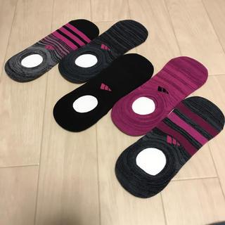 アディダス(adidas)の★アディダス レディースソックス5足組(ソックス)