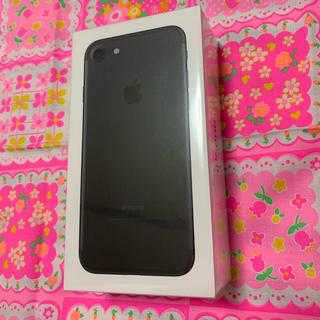 アップル(Apple)のiPhone7 新品未使用(スマートフォン本体)