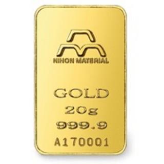 インゴット 純金 K24 20g ゴールドバー INGOT 送料無料