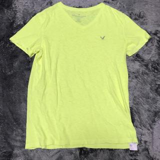 アメリカンイーグル(American Eagle)のAmerican Eagleアメリカンイーグル  Tシャツ イエロー サイズM(Tシャツ/カットソー(半袖/袖なし))