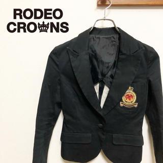 ロデオクラウンズ(RODEO CROWNS)の【Rodeo Crowns】ワッペン テーラードジャケット(テーラードジャケット)
