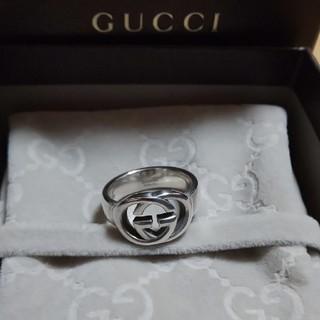 グッチ(Gucci)のyu♥️様専用 GUCCI インター ロッキング リング   13号表記(リング(指輪))
