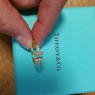 ティファニー(Tiffany & Co.)のティファニー☆Tワイヤーリング☆ゴールド(リング(指輪))