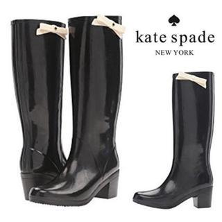 kate spade new york - ケイトスペード レインブーツ