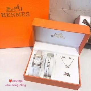 Hermes - Hermesブレスレット、腕时计、ネックレス、イヤリング、指輪