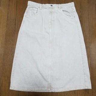 ZARA - ZARA タイトスカート#デニムスカート XL ベージュ