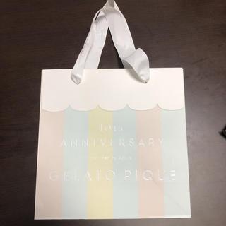 ジェラートピケ(gelato pique)のジェラートピケ ショッパー ショップ袋 紙袋(その他)