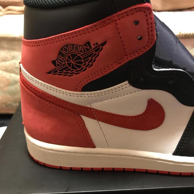 NIKE(ナイキ)のAir jordan 1 エアジョーダン 1 TRACK RED 27 メンズの靴/シューズ(スニーカー)の商品写真