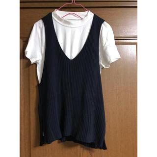 アーバンリサーチ(URBAN RESEARCH)のベスト付きTシャツ アーバンリサーチ(Tシャツ(半袖/袖なし))