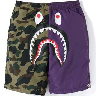 A BATHING APE - Abathingape 1st camo shark beach pants