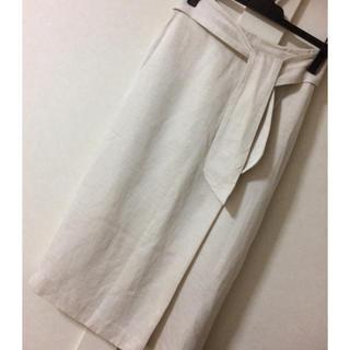 ロペ(ROPE)のロペ☆ウエストリボンロングタイトスカート(ロングスカート)
