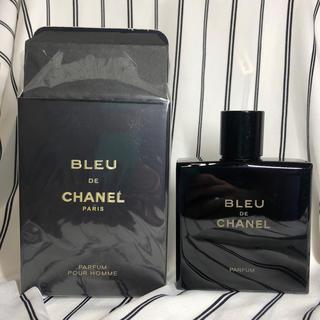 シャネル(CHANEL)のCHANEL ブルードゥシャネル パルファム 100ml(香水(男性用))