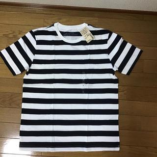 ムジルシリョウヒン(MUJI (無印良品))の無印良品 ボーダー Tシャツ(Tシャツ/カットソー(半袖/袖なし))