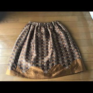 プープレ(peu pres)の【最安値】peu pres 板チョコスカート(ひざ丈スカート)