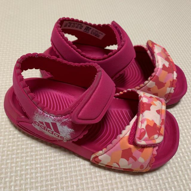 adidas(アディダス)のadidas*サンダル*アルタスイム キッズ/ベビー/マタニティのベビー靴/シューズ(~14cm)(サンダル)の商品写真