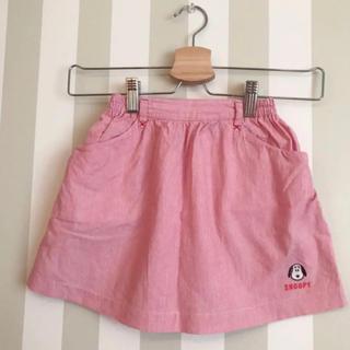 ファミリア(familiar)の【familiar × スヌーピー 】スカート☆ 110センチ(スカート)