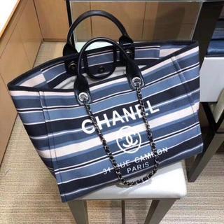 CHANEL - 【CHANEL】シャネル ドーヴィル チェーン 2WAY トートバッグ