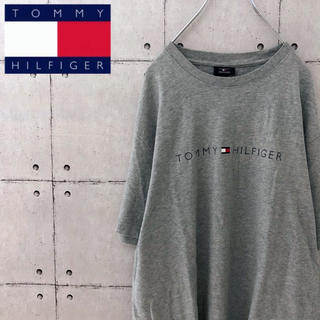 TOMMY HILFIGER - 【人気】トミーヒルフィガー  ロゴTシャツ