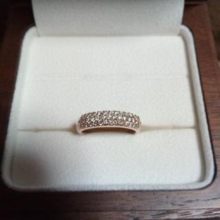 パベェダイヤモンド 0.50カラットリング(リング(指輪))