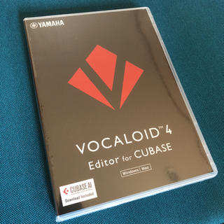 YAMAHA ヤマハ VOCALOID4 Editor for Cubase