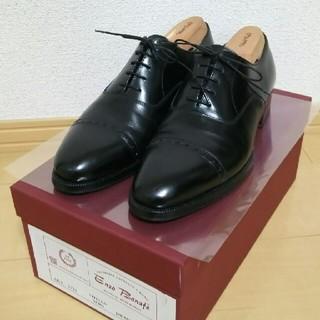 エンツォボナフェ(ENZO BONAFE)のエンツォボナフェ 3773パンチドキャップトゥ 5.1/2(ドレス/ビジネス)