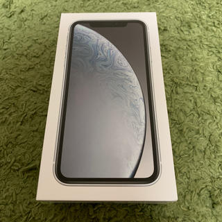 Apple -  iPhone XR 64G ホワイト