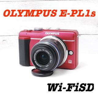 オリンパス(OLYMPUS)の❤️シャッター回数495回❤️スマホに送れる❤️OLYMPUS E-PL1s(ミラーレス一眼)