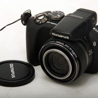 オリンパス(OLYMPUS)の動作確認済 美品 OLYMPUS オリンパス SP-560UZ 単三電池使用(コンパクトデジタルカメラ)