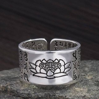 蓮の花 リング 指輪 フリーサイズ