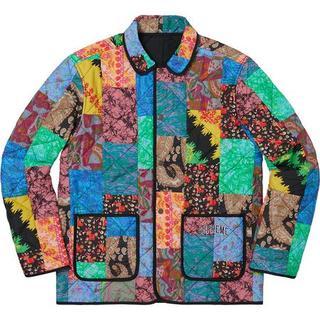 Supreme - Supreme Reversible Patchwork Jacket L