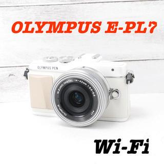 OLYMPUS - ❤️可愛いホワイト❤️自撮り&Wi-Fi❤️オリンパス E-PL7