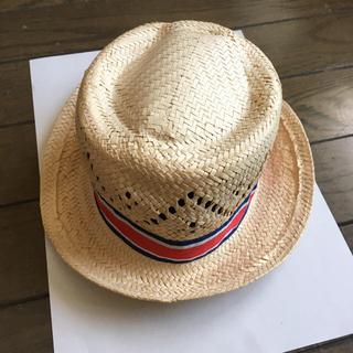ベビーギャップ(babyGAP)の【baby Gap】麦わら帽子・ハット・夏用帽子《サイズ46》(帽子)
