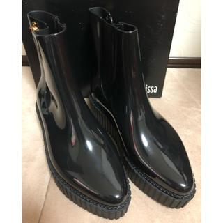 ヴィヴィアンウエストウッド(Vivienne Westwood)のヴィヴィアンウエストウッド×メリッサ  レインブーツ 24センチ(レインブーツ/長靴)