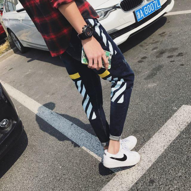 【即売れ完売】 メンズ 着回し抜群 オールシーズン デニム 春ジーンズ 大人気 メンズのパンツ(デニム/ジーンズ)の商品写真
