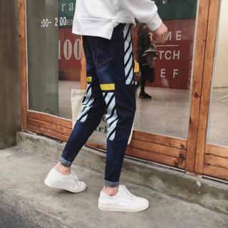【即売れ完売】 メンズ 着回し抜群 オールシーズン デニム 春ジーンズ 大人気