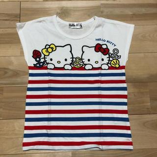 ハローキティ - 【ハローキティ】Tシャツ