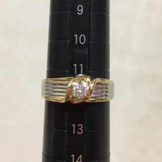 ジュエリーツツミ(JEWELRY TSUTSUMI)のプラチナ 18k  コンビリング(リング(指輪))