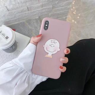 SNOOPY - 即日発送♡ スヌーピー チャーリーブラウン iPhoneケース ピンク