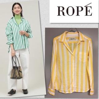 ロペ(ROPE)の❤︎ ROPE ロペ 麻 リネン 100% シャツ ジャケット ❤︎(シャツ/ブラウス(長袖/七分))