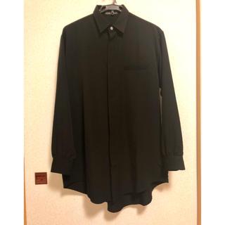 Yohji Yamamoto -  yohji yamamoto Y's for men ウールギャバシャツ