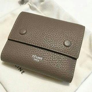 セリーヌ(celine)のCELINE セリーヌ コンパクト三つ折りミニ財布(財布)