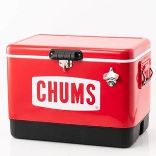 CHUMS - CHUMS チャムス スチールクーラーボックス 54L 大容量 BBQ大活躍