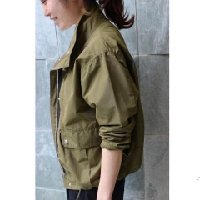 IENA(イエナ)のIENA ミリタリーブルゾン/カーキ レディースのジャケット/アウター(ミリタリージャケット)の商品写真