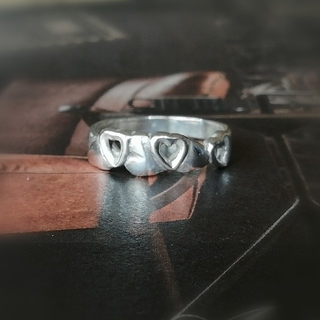 ティファニー(Tiffany & Co.)の🌹ハートモチーフリング🌹(リング(指輪))
