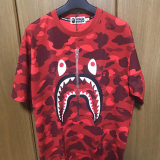 A BATHING APE - A BATHING APE シャークTEE