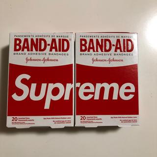 シュプリーム(Supreme)のsupreme BAND AID  2個セット(日用品/生活雑貨)