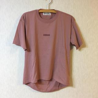 snidel - スナイデル Tシャツ
