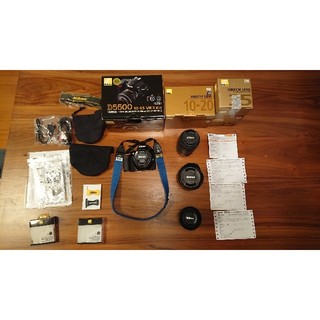 Nikon - ニコン☆D5500+純正レンズ4本☆箱&保証書付き