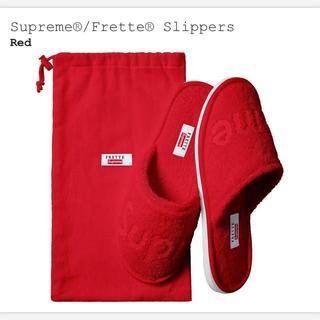 シュプリーム(Supreme)のsupreme Frette® Slippers スリッパ 8-10(その他)