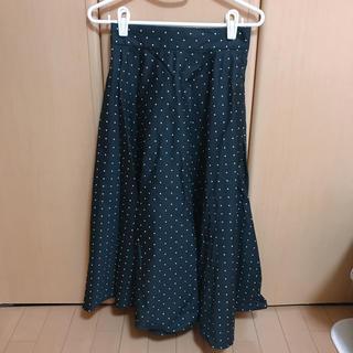 ユニクロ(UNIQLO)のユニクロ ドットスカート(ひざ丈スカート)